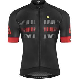 Alé Cycling Graphics PRR Strada Kortärmad cykeltröja Herr röd/svart